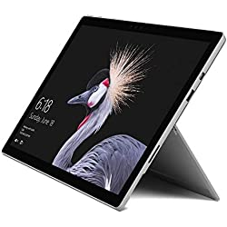 Microsoft Surface Pro - Ordenador portátil 2 en 1, 12.3'' (Intel Core i5-7300U, 8GB RAM, 256GB SSD, Intel Graphics, Windows 10 Pro) Plata