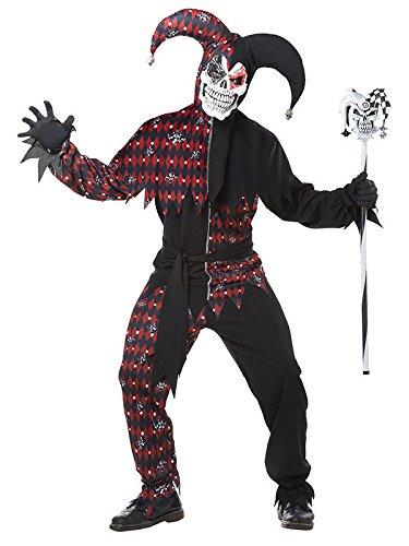 n Halloween-Kostüm schwarz-rot L (Böse Kostüme Für Halloween)
