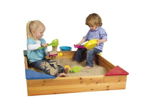 Paradiso NV/SA T02210 - Sandkasten Holz mit Segeltuch