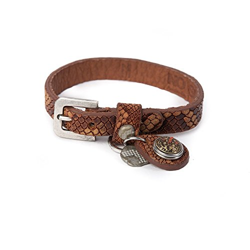 Noosa Armband Wrap Bracelet Petite Pattern Print cognac, Grösse:S Petite Print Wrap
