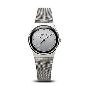 BERING Reloj Analógico para Mujer de Cuarzo con Correa en Acero Inoxidable 12927-000