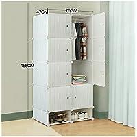 Protezione Ambientale plastica ABS resina semplice combinazione armadio moderno semplice Assemblea armadio Fold Combinazione armadio