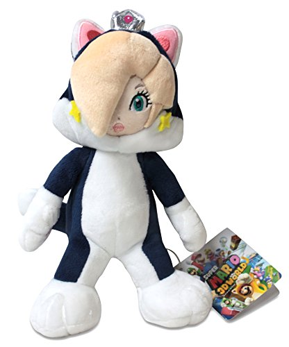 Unbekannt Sanei Super Mario Serie 22,9cm Katze Rosalina Plüsch Puppe