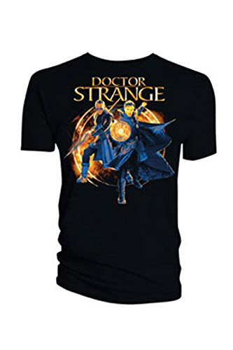 Doctor Strange T-Shirt Kaecilius & Doctor Strange Size S Titan Merchandise shirts