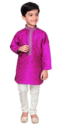 Desi Sarees Boys Sherwani Kurta Pajama Bollywood Party 941 (.