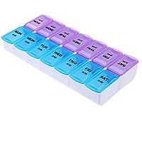 prosperveil 14Slot 7Day Pille Veranstalter Box Weekly Case Travel Medikamenteneinnahme preisvergleich bei billige-tabletten.eu