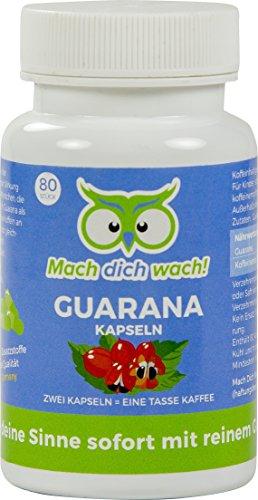Guaranakapseln - Mach dich wach!® - Qualität aus Deutschland - Ohne Zusatzstoffe!