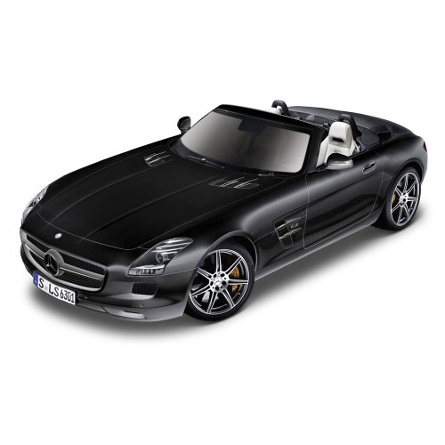 Brio GmbH Bburago 15643035 - Street Fire 1:32 Mercedes-Benz SLS AMG Cabrio - - Engine Model