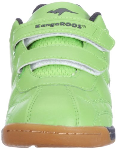 KangaROOS Hector-Combo 11035, Scarpe sportive unisex bambino Verde (Grün (lime/wht/navy 804))