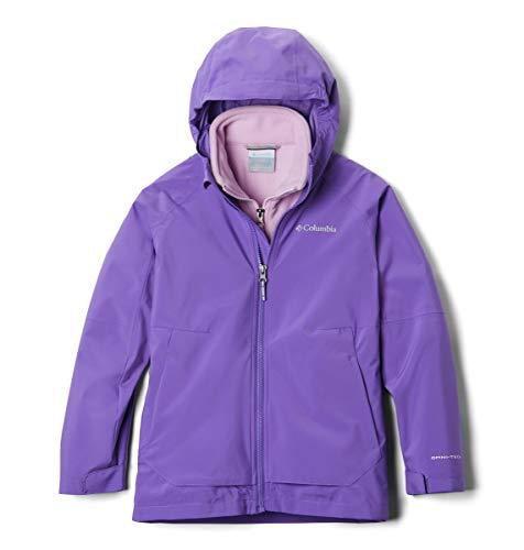 Columbia Tolt TrackTM Stretchjacke, Jungen, Tolt TrackTM StretchInterchange Jacket, Grape Gum, X-Large Fleece Track Jacke Kinder