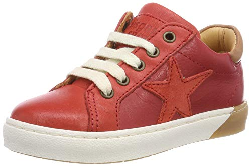 Bisgaard Unisex-Kinder 31801.119 Sneaker, Rot (Red 901), 37 EU