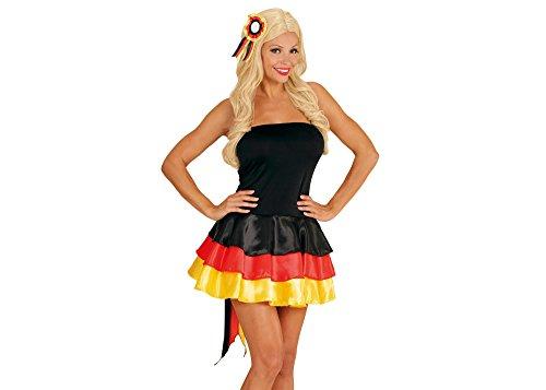 Undercover Kostüm Miss - Widmann - Kleid Miss Deutschland