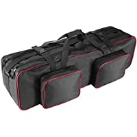 Neewer Photo Studio Equipement 91x23x23cm Grand Sac de Transport avec Sangle pour Trépied, Support de Lumière, Kit d'Eclairage Photo, Compartments Rembourrées, Grande Coussin de Storage