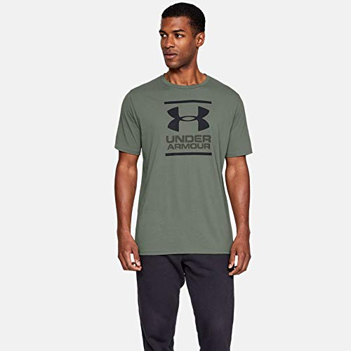 Fast-Drying Mens T Shirt with Graphic Men Super Soft Mens T Shirt for Training and Fitness Under Armour UA GL Foundation Short Sleeve Tee