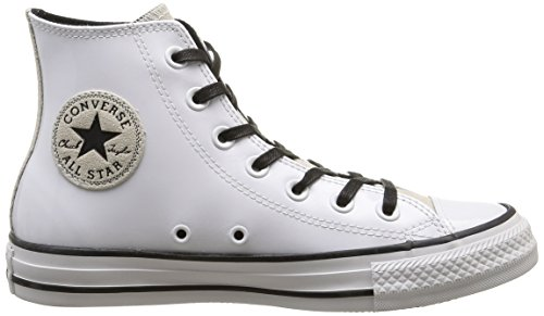 Converse All Star Hi Patent/suede, bout fermé femme Optical White