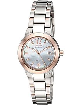 Citizen Damen-Armbanduhr Analog Edelstahl EW1676-52D