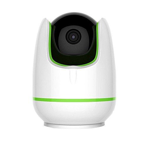 PYRUS IP Home Security Monitor Kamera HD Wi-Fi IP-Kamera für den Innenbereich Videoaufnahme Fernbedienung über PC & Smartphone (960P)