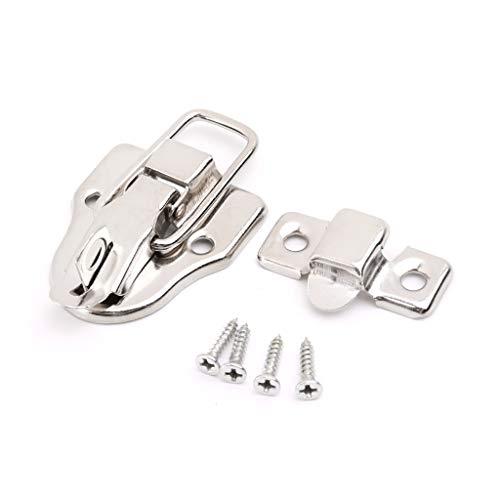 Stahl Brust-tool-box (Analysisty Vintage Toolbox Lock Antik Metallschnalle Koffer Koffer Toggle Lock Hasp Latch Möbel Hardware)