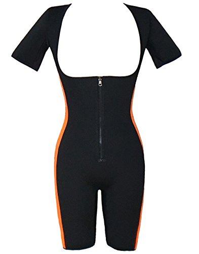 Bslingerie -  Maglia modellanti  - Donna Schwarz-Blau Bodysuit