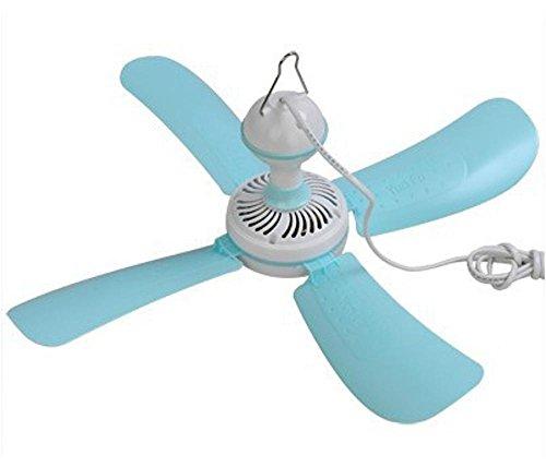 Preisvergleich Produktbild Kaxima Moskitonetze Decke Ventilator Fabrik Schlafsaal Mini 4-flügelige Decke Ventilator sehr leise Ultra-Provinz Power Office fan