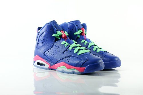 Nike - Basket Air Jordan 6 VI Retro GS Game Royal bleu 543390 439