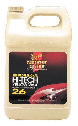 Meguiars M26 Hi Tech Yellow Canauba Wax -