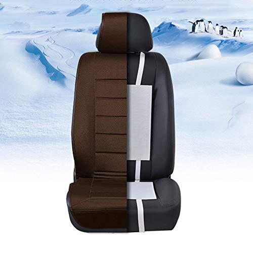 1 / 2Pcs Universal Gebaut In Autositzheizung Kohlefaser Beheizten Kissen Pads Abdeckung Sitzwärmer Pads 12 V,Bsingle