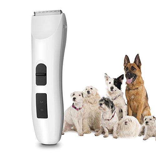 5ivepets Haustierschermaschine- Geräuscharmer Haarschneidemaschine Hund und Katze Test