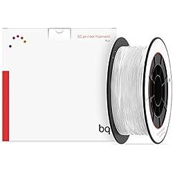 BQ 05BQFIL027 - Filamento de PLA para impresión 3D, color blanco