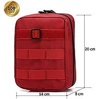 Ponixa Outdoor Taktische Erste Hilfe Tasche der Tasche MOLLE (Rot) preisvergleich bei billige-tabletten.eu