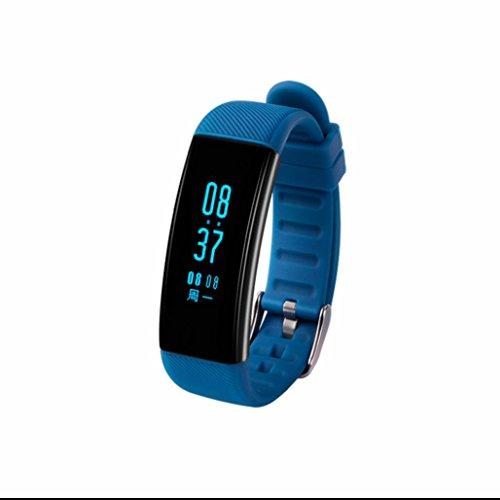 Smart Armband MARINE electronicssedentary Alert Nachricht Benachrichtigung, Bewegung Schrittzähler Entfernung Tracker Zeit Datum Display Sport Armbanduhr unterstützt IOS Android Smartphone (Display Marine)