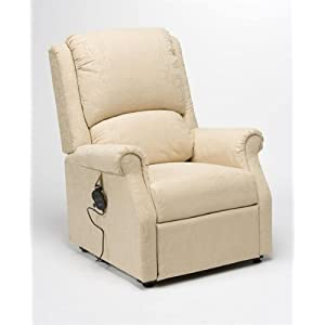 Drive Medical Chicago Rise and Recliner Mobility Chair in Beige