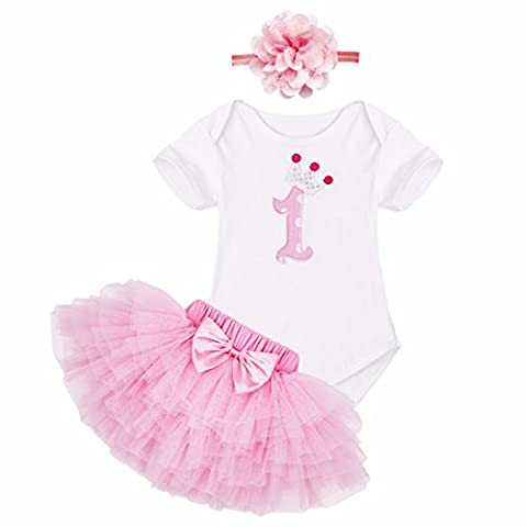 Minnie Mouse Costume Tutu - iEFiEL Bébé Fille Ensemble nouveau-né ( Barboteuse