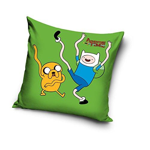 Adventure Time 100% cotone decorativo Cuscino federa Home Decor Jake e Finn (Adventure Time Cuscino)