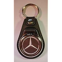 Premium quality faux leather Mercedes Benz key ring/key fob