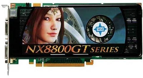 MSI nVidia Grafikkarte GeForce NX8800GT-T2D512E-OC 512MB