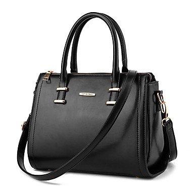 La mode féminine Sacs de messager d'épaule de cuir synthétique/Handbag Tote,Black