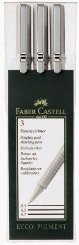 Faber-Castell Ecco -Bolígrafo con punta de fibra (3 unidades)