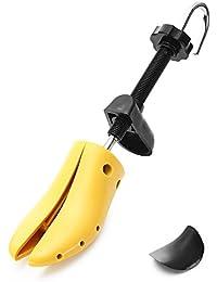 lisianthus002Unisex Schuh Keilrahmen Praktische Länge verstellbar Schuh Baum Single, Gelb - gelb - Größe: S