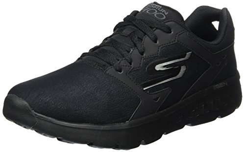Skechers (SKEES) GO RUN 400-Accelerate, Zapatillas de deporte, Hombre, Negro (BBK), 42