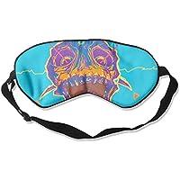 Sleep Eye Mask Psychedelic Skull Lightweight Soft Blindfold Adjustable Head Strap Eyeshade Travel Eyepatch E6 preisvergleich bei billige-tabletten.eu