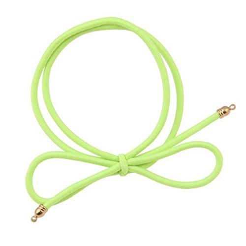 8PCS Elastiques cheveux queue de cheval titulaires Accessoires cheveux, vert