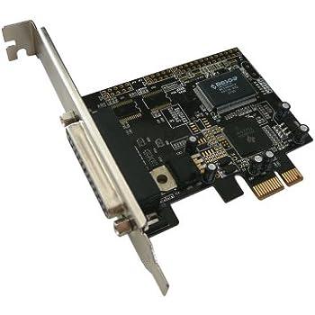 KALEA-INFORMATIQUE © - Carte Controleur PCI EXPRESS (PCI-E) vers Parallèle IEEE1284 - Prise DB25 / Pour imprimante ou scanner