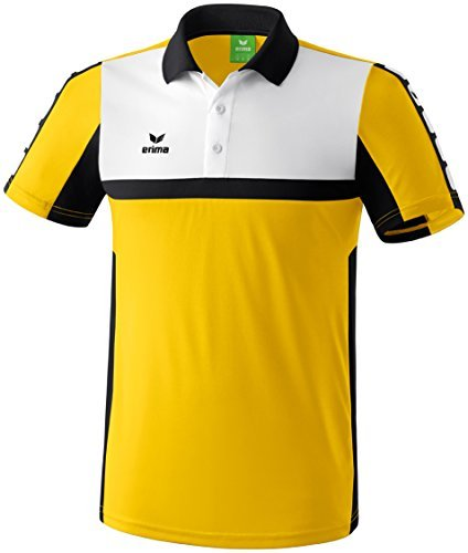 erima 5-Cubes Children's Polo Shirt Yellow Gelb/Schwarz/Wei Size:164 (EU) by Erima