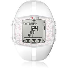 Polar FT40 Mujer - Reloj con pulsómetro y con medición de condición física, consumo de calorías y de efecto del entrenamiento para fitness y cross-training (blanco)