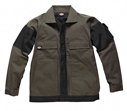 Dickies - Veste travail grafter duo tone Dickies Olive / black