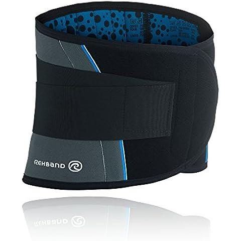 Rehband - Banda protectora de espalda para hombres gris gris Talla:M: 28-31