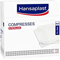 Hansaplast Pack 50Kompressen, steril, 10x 10cm–2Stück preisvergleich bei billige-tabletten.eu
