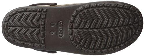 Crocs Citilane Canvas Clog, Sabots Mixte Adulte Marron (Khaki/Espresso)