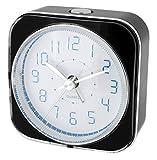 Krippl-Watches Quarzwecker mit Analoganzeige, besonders leise